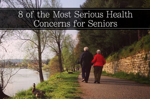 8 Serious Health Concerns For Seniors