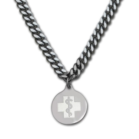 Men's Medical Alert Necklace