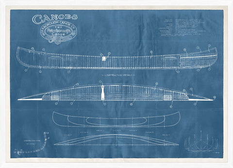 Peterborough Canoe Patent LG