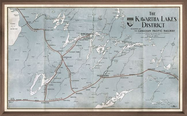 Kawartha Lakes Map LG
