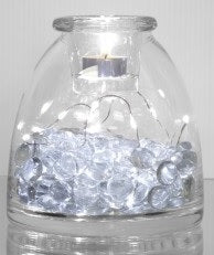 CANPOL - IGLOO DOUBLE GLASS VASE FILLED