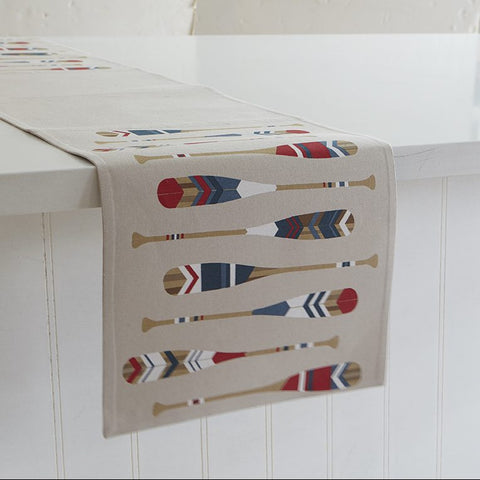 "Paddles 72"" Table Runner"