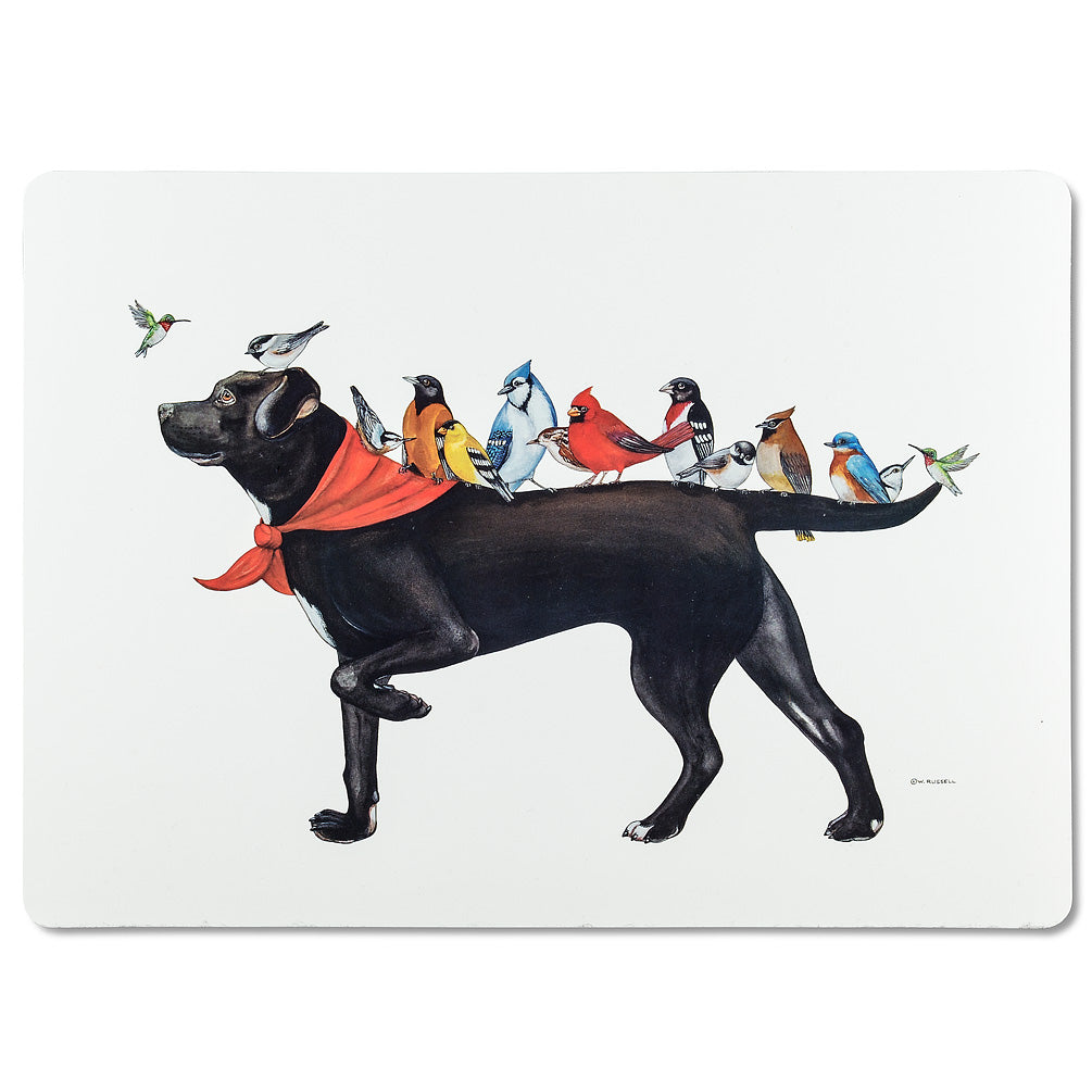 ABBOTT - DOG AND BIRD PLACEMAT