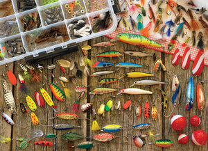 OUTSET - FISHING LURES PUZZLE 500 PIECES