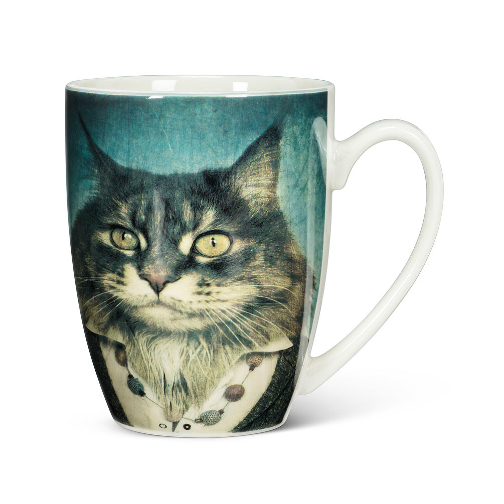 ABBOTT - MAJESTIC DRESSED CAT MUG