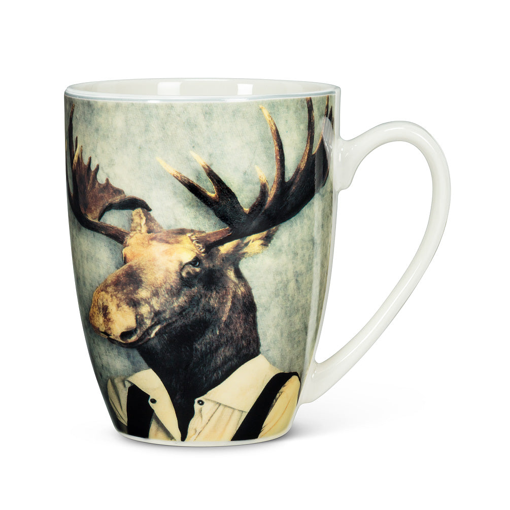 ABBOTT - MAJESTIC DRESSED MOOSE MUG