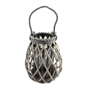 Medium Willow Candle Lantern Teardrop