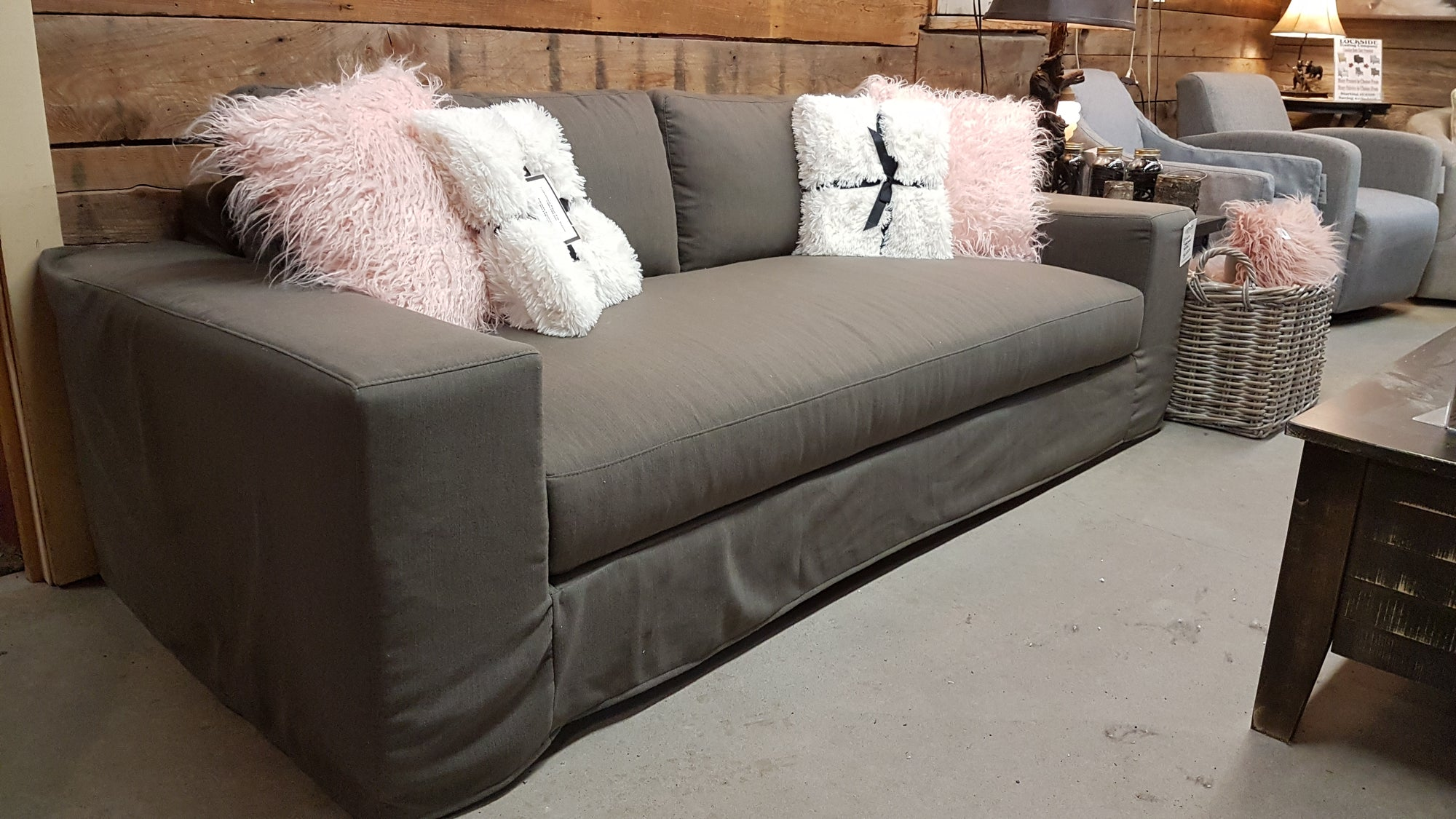 *FLOOR MODEL*  Draco Slipcover Sofa