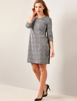 GIFTCRAFT - BETHANY STRIPPED DRESS