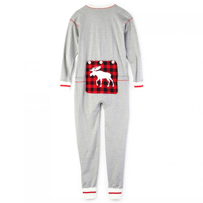HATLEY - UNION SUIT CANADIAN MOOSE