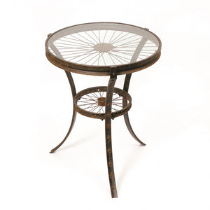 Large Uni Round Table - Black