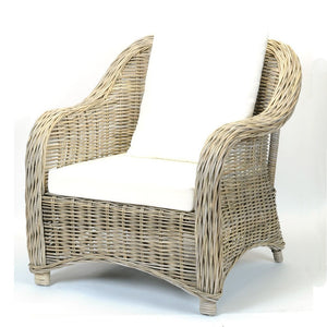 *FLOOR MODEL* BAC - KATRINA WICKER ARMCHAIR