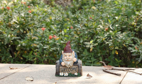 Welcome / Go Away Gnome