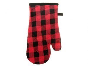 IHCASA - RED BUFFALO CHECK OVEN MITT