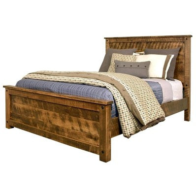 *FLOOR MODEL* Adirondack Queen Bed + 1 Nightstand