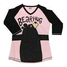 LA - BEAR HUG TALL PJ TEE