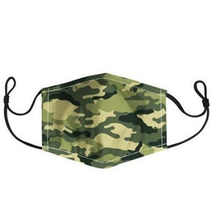 HARMAN -  ADULT CAMO FACE MASK