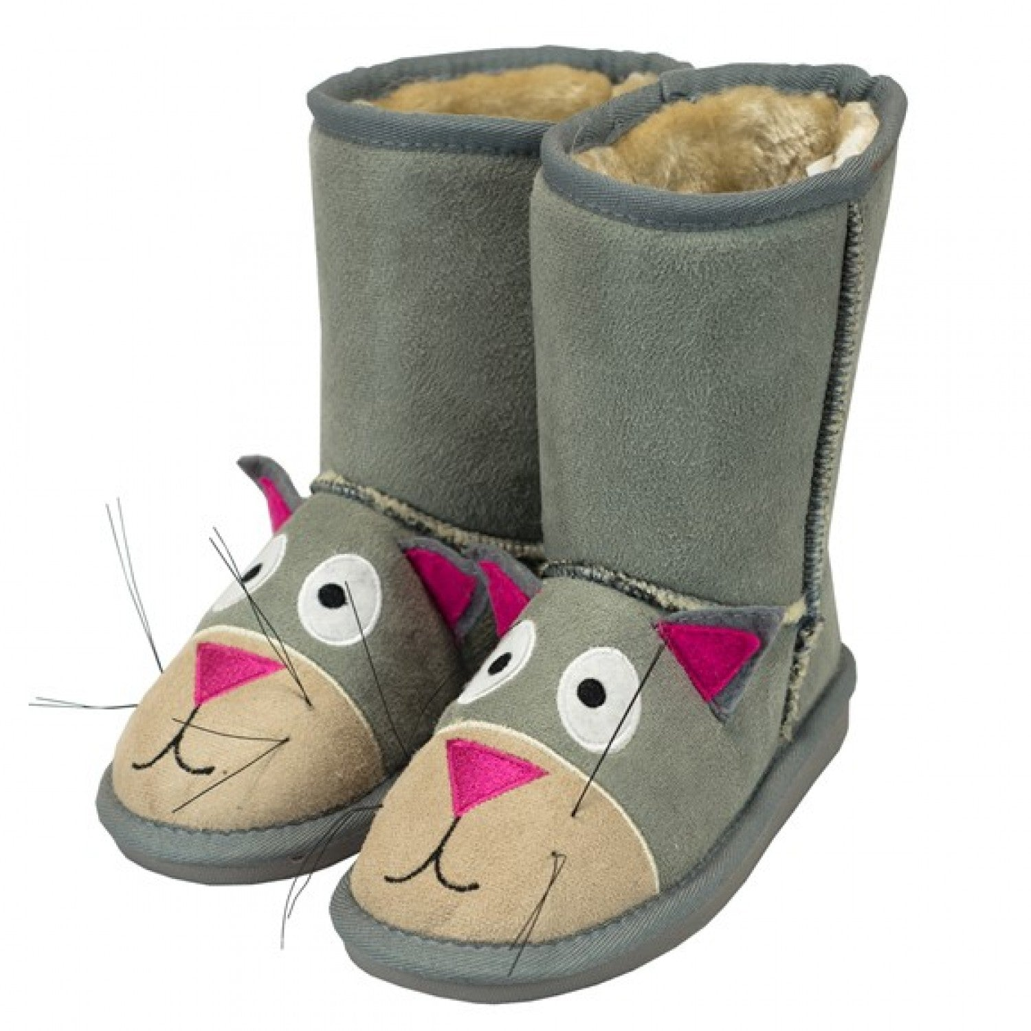 LAGO - CAT TOASTY TOES SLIPPERS