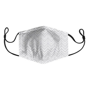 HARMAN - ADULT CHEVRON FACE MASK