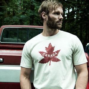 RED CANOE - HERITAGE SHORT SLEEVE T-SHIRT STONE