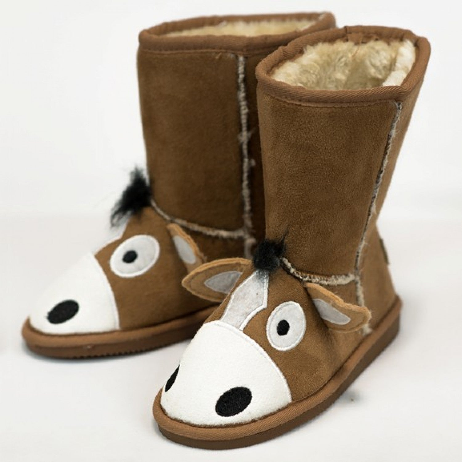 LAZY ONE - HORSE TOASTY TOE SLIPPERS
