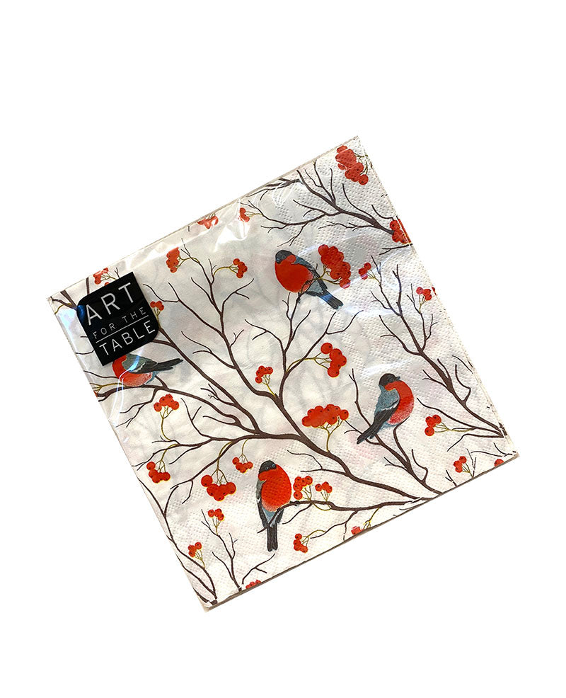 TRIW IMPORTS - CARDINAL CHRISTMAS NAPKINS