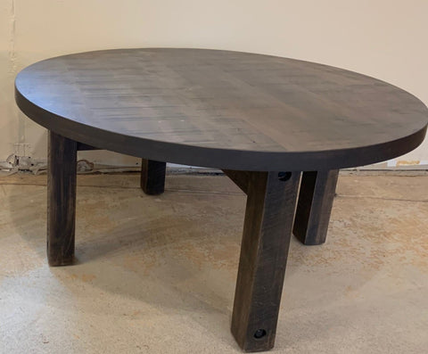*FLOOR MODEL* Round Coffee Table & Side Table