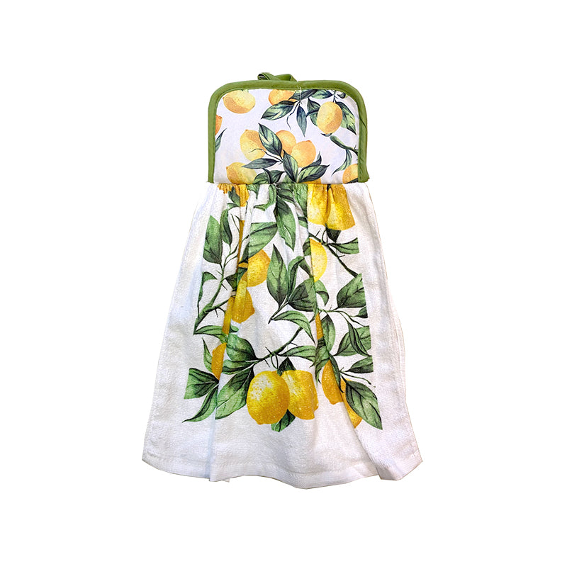 IHCASA - LEMON BRANCHES TIE HAND TOWEL