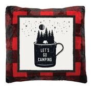 Lets Go Camping Pillow