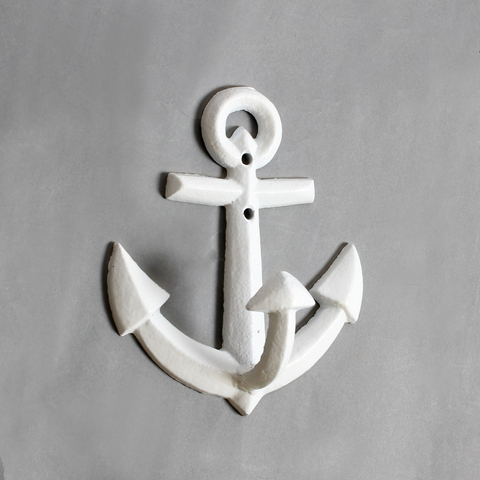 Large White Anchor Hook
