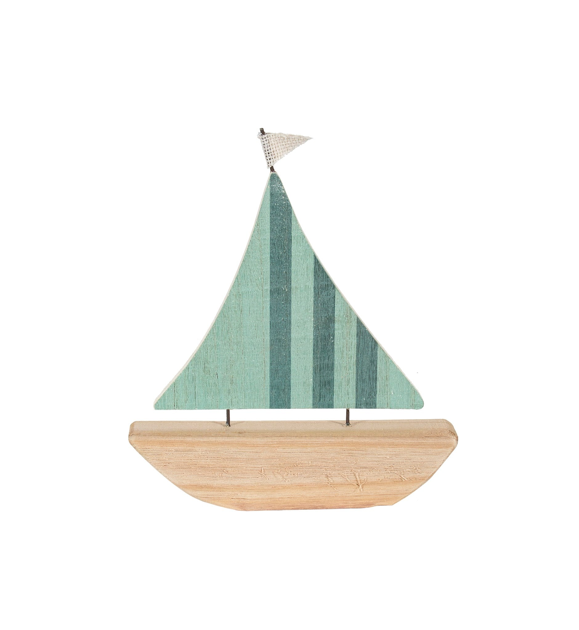 CNDYM - SMALL WOOD SAILBOAT