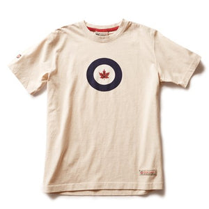 RED CANOE - RCAF T-SHIRT STONE