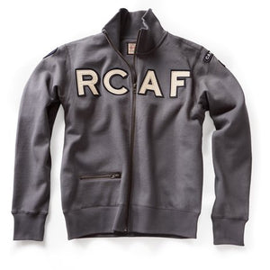 RED CANOE - RCAF FULL ZIP SWEATER BLUE