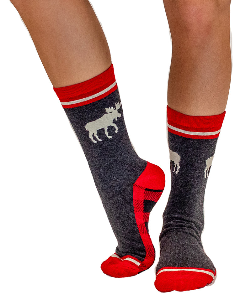 LAZY ONE - MOOSE CABOOSE CREW SOCKS