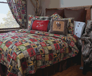 Cabin In The Woods 5 Piece Quilt Set