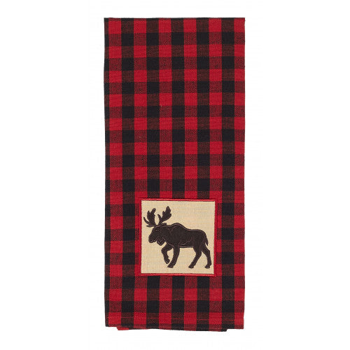 APEX - BUFFALO RED PLAID TEA TOWEL