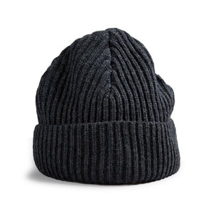 RED CANOE - WOOL CHARCOAL TOQUE