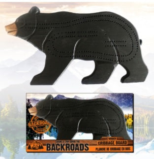 JIMMYZEES - CRIBBAGE BOARD - BEAR