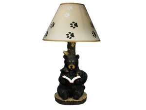 IHCASA - BEDTIME STORIES READING BEAR LAMP