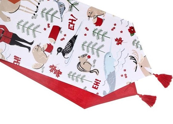 "IHCASA - 54"" CANADIANA TABLE RUNNER"