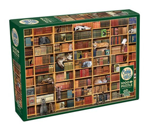 OUTSET - CAT LIBRARY PUZZLE