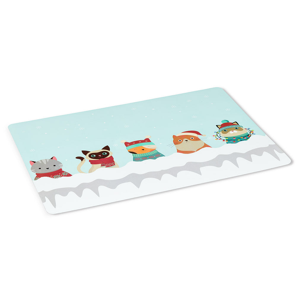 ABBOTT - WINTER CATS PLACEMAT