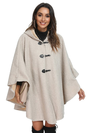 WELLCO - CREAM CAPE WITH HOOD