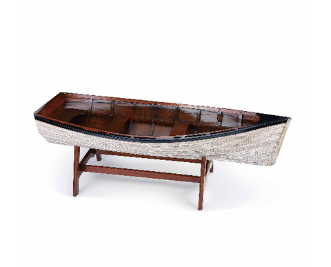 Drift Boat Coffee Table