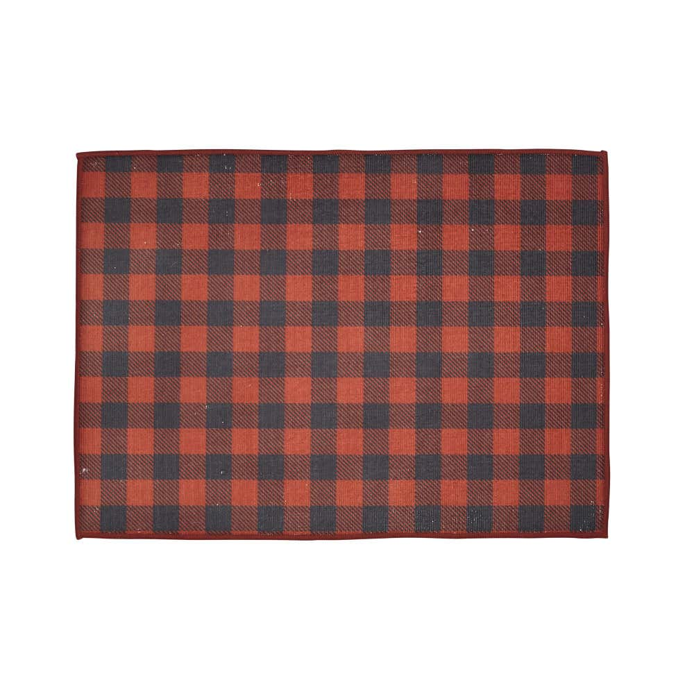 SAFDIE - DRYING MAT RED BUFFALO
