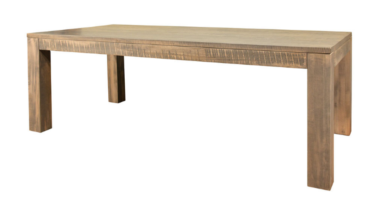 *FLOOR MODEL* RUFFSAWN - HEIDELBERG DINING TABLE