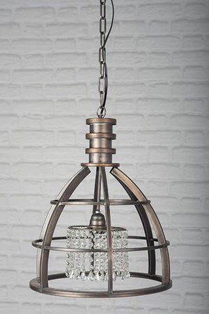 Industrial Bling Ceiling Light