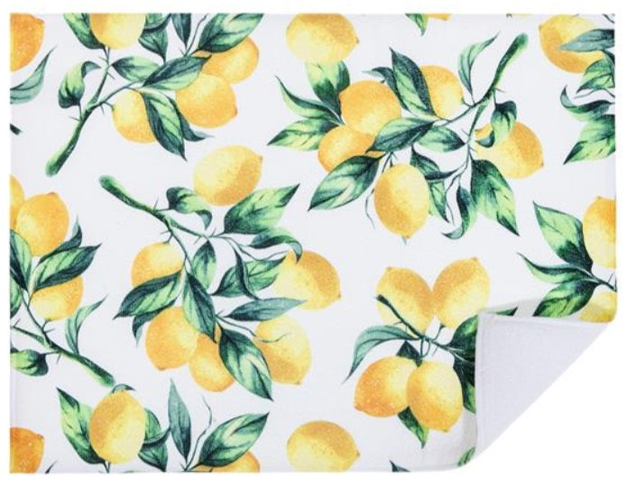 IHCASA - LEMON BRANCHES DRYING MAT