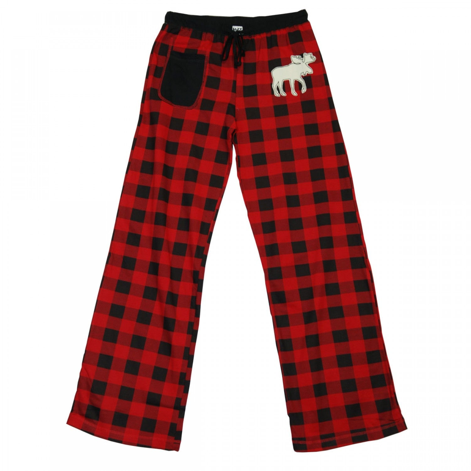 LAZY ONE - MOOSE PLAID YOGA PANTS