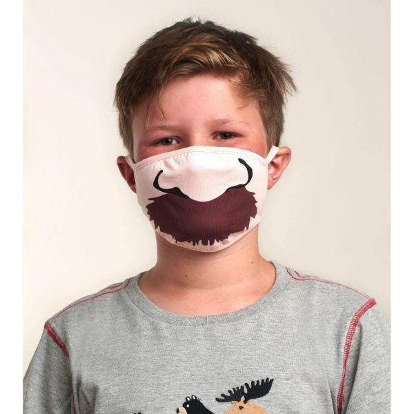 HATELY - MOUSTACHE KIDS MASK